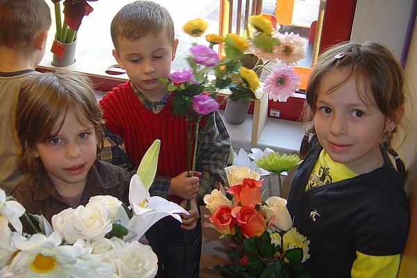 Groep 4,  bloemen