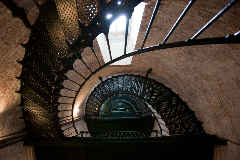 Currituck Lighthouse stairs