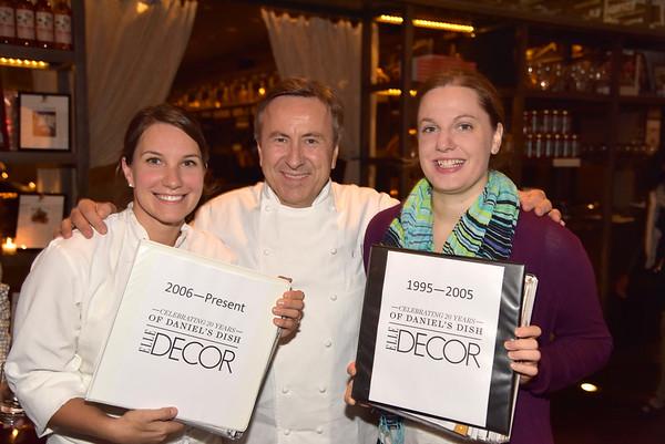 October 5, 2015 Elle Decor 20th Anniv of Daniel's Dish DBGB Kitchen at 299 Bowery