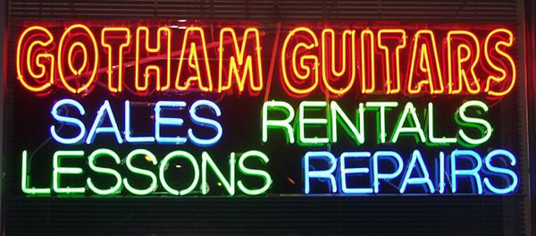 Memories of Gotham Guitars