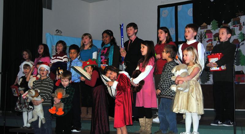 Holidays at Shelburne Elementary, 2010