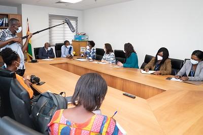 Rencontre avec le Ministre de la Santé SEM Kwaku AGYEMAN-MANU - Accra