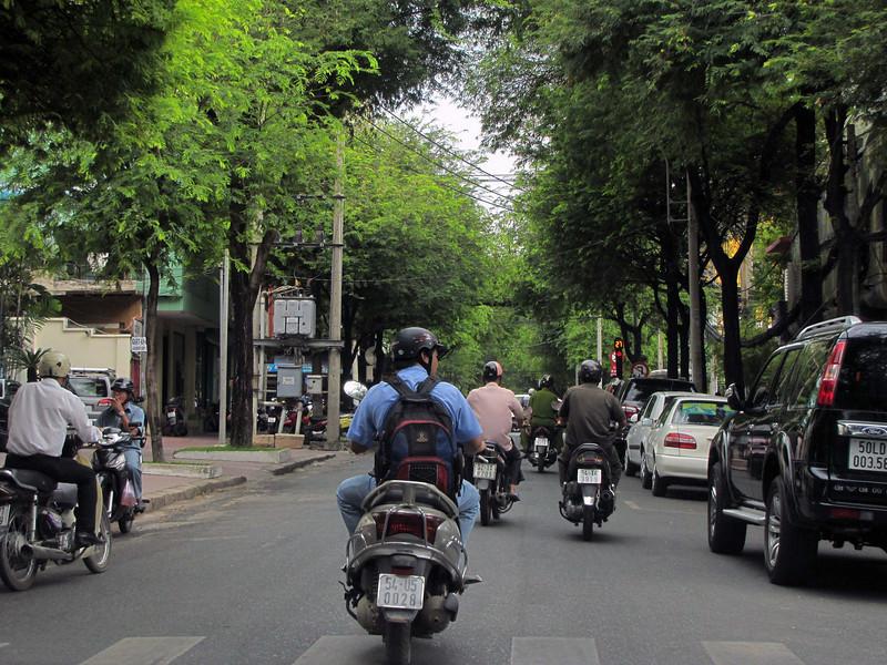 77-Motorbike traffic, HCMC