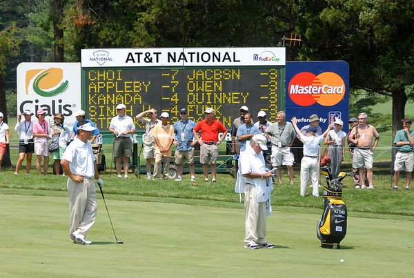 AT&T National Golf Tournament (Round Two)