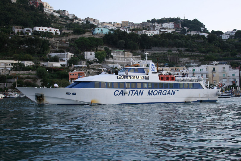 ISCHIAMAR departing from Capri to Ischia.