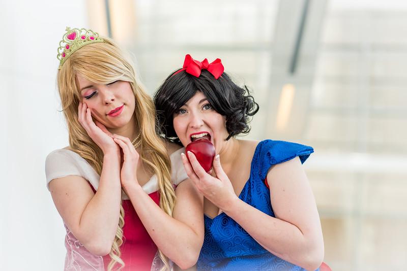 Princess Aurora - Sleeping Beauty and Snow White