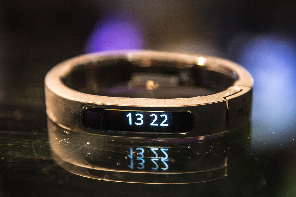 . The Razer smartband at Electronic Entertainment Expo in Los Angeles on Tuesday, June 10, 2014. (Photo by Watchara Phomicinda)