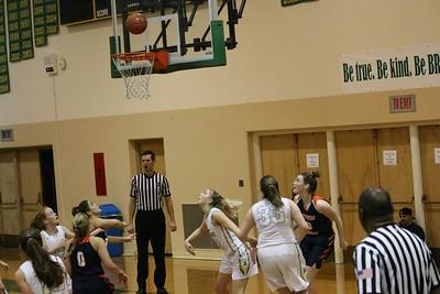Girls Basketball 2018 vs Blanchet