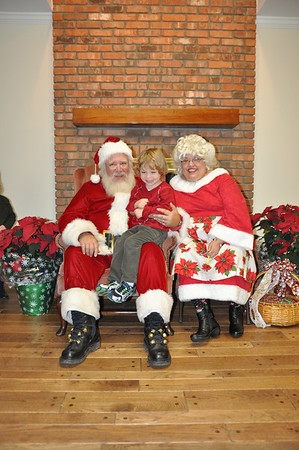 2013-12-13 Photos with Santa