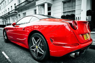 Belgravia London Ferrari