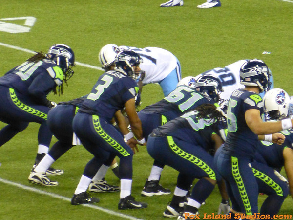 Seattle Seahawks vs Tenessee Titans PreSeason Gm1