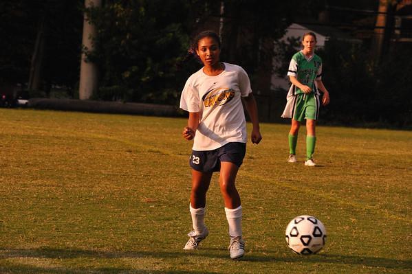 BCC Girls JV Soccer 2009