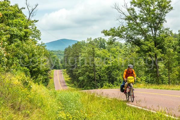 TransAmerica/Bike Route 76 in Missouri