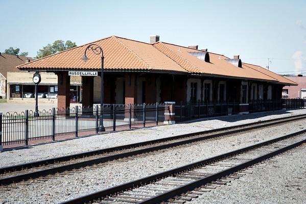 Missouri-Pacific Depot Russellville, AR
