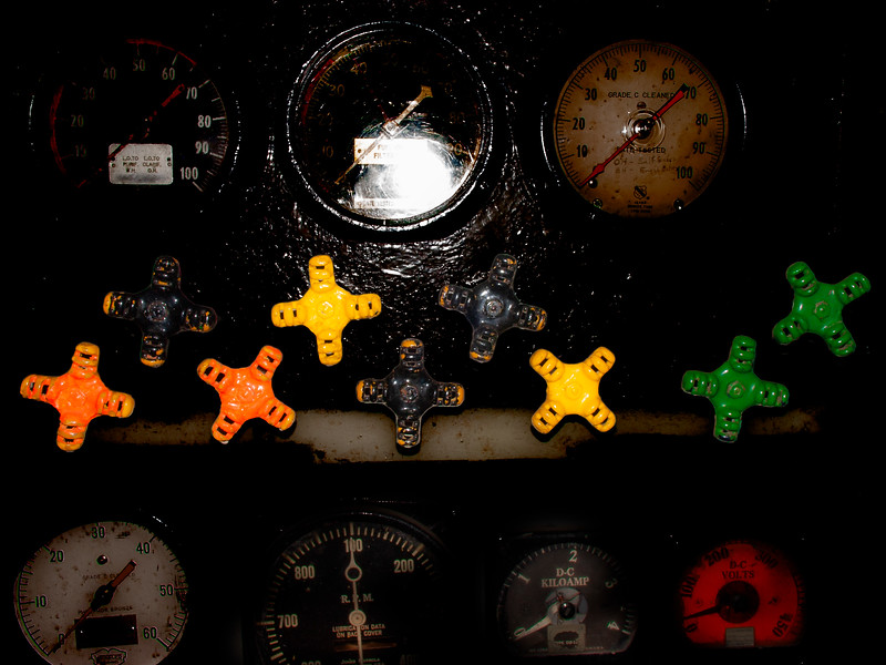 Knobs, U.S.S. Cavalla, Galveston, Texas, 2004