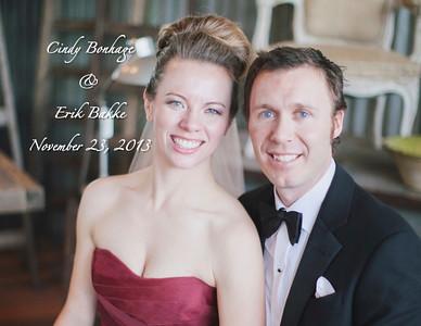 Cindy & Erik's Wedding