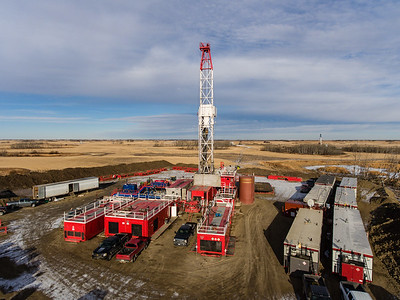 Red Dog Drilling Rig 4 Aerial 2017