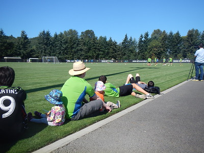 Seattle Sounders Practice August 27th 2014