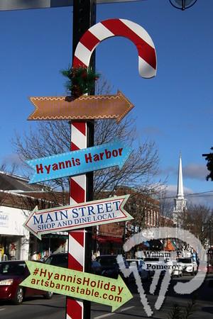 HYANNIS VILLAGE — holiday stroll — Hyannis, MA 12 . 7 - 2019