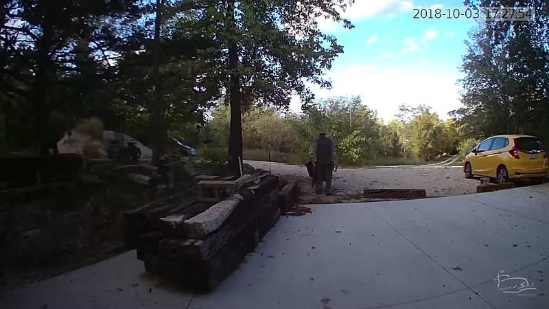doorbell camera shot of me