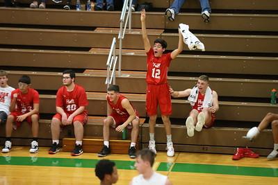 Hall vs Mendota Boys Basketball