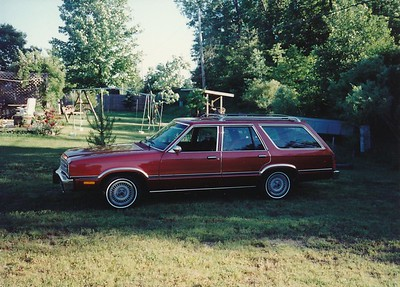1981 Ford Fairmont Station Wagon