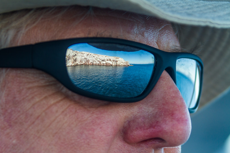 Close-up of a man wearing sunglasses - Mexico