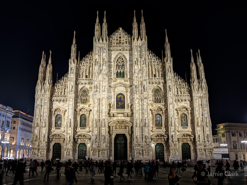Duomo di Milano, Milan, Italy, October 2017