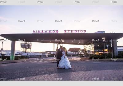Emma and Dan at Pinewood Studios