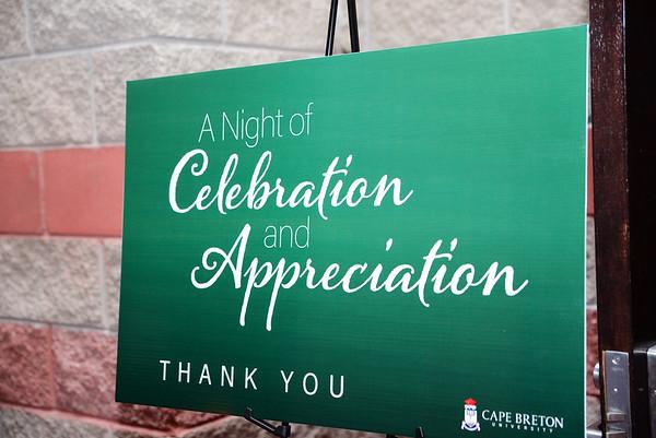 CBU Faculty Appreciation Dinner