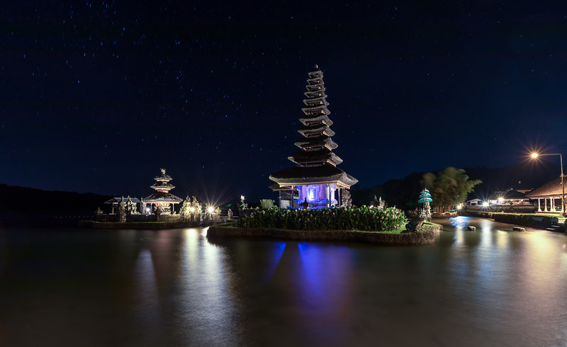 Predawn at Ulun Danu