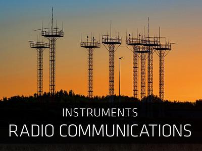 Instruments – Radio communications