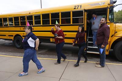 Henderson Middle teachers tour neighborhood