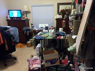 2015 11-15 YIKES sewing room before organization