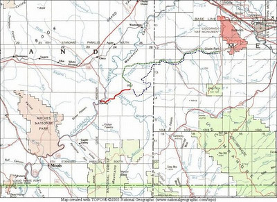 White Rim Trail 2/24/2006