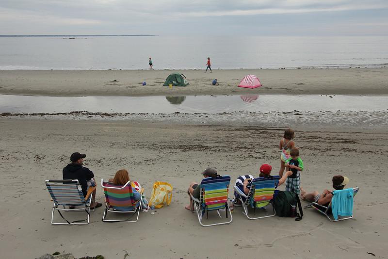 New Hampshire beach.