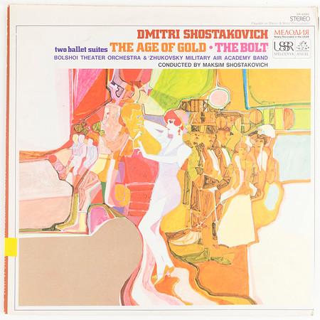 Angel-Melodiya SR-40062 Shostakovich Age of Gold