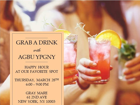Happy Hour March 2019