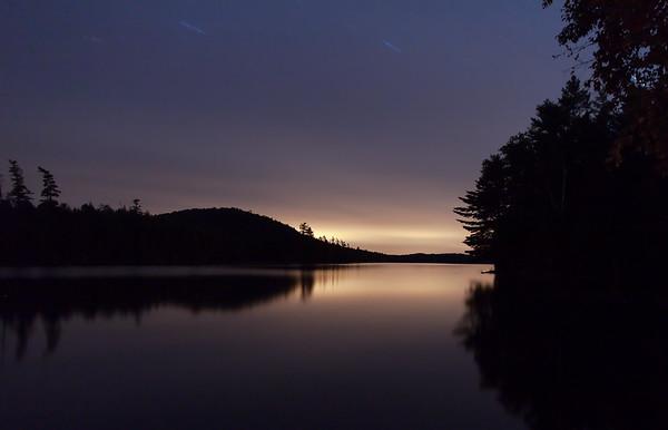 Raquette Lake, 11 PM