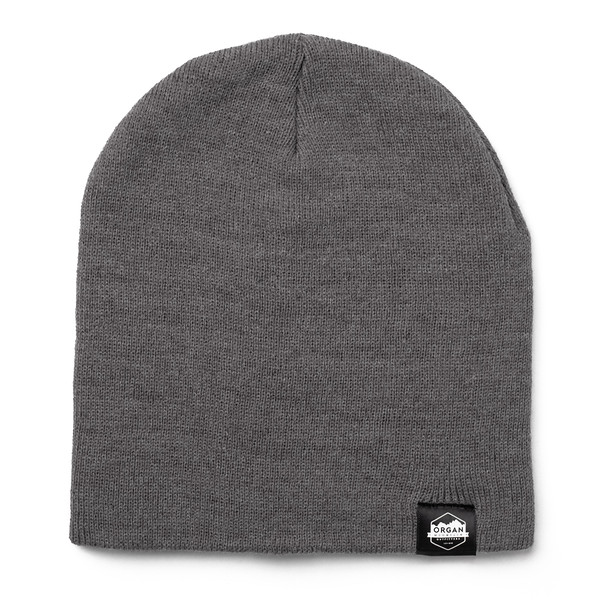 Outdoor Apparel - Organ Mountain Outfitters - Hat - 8 Inch Knit Beanie - Heather Grey.jpg