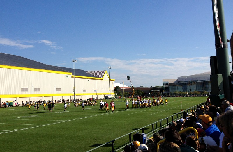 Another beautiful morning in Green Bay