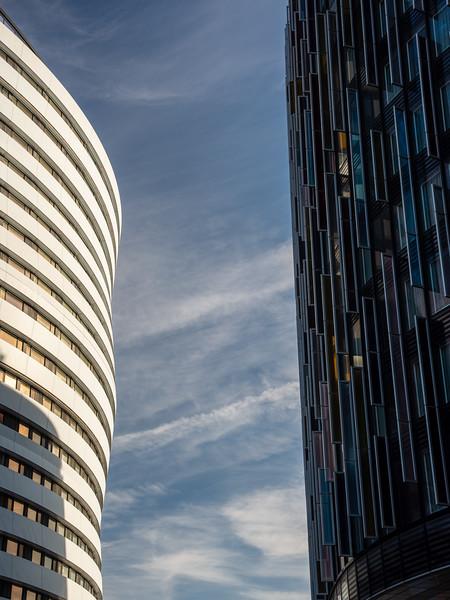 Modern buildings at Waterloo