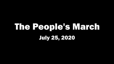 The People's March in Harlem (July 25, 2020)