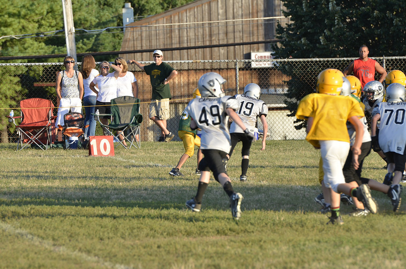 Wildcats vs Raiders Scrimmage 202.JPG