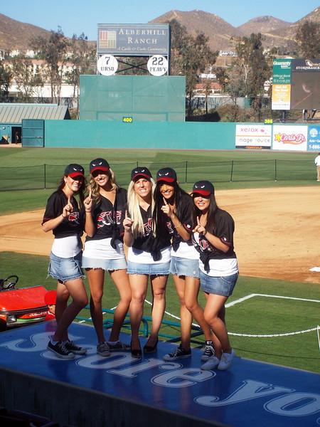 Triple A AllStar Game - ATeam AllStar Girls