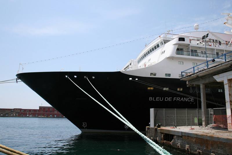 M/S BLEU DE FRANCE moored in Napoli.