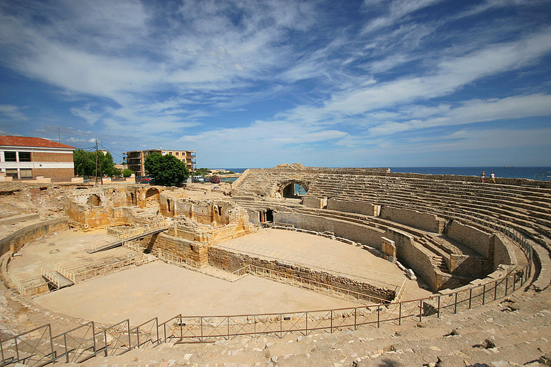 The Roman Amphitheater of Tarragona