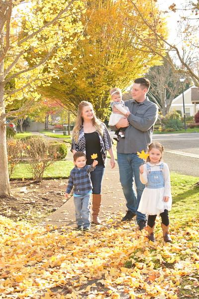 Brandon and Sara and Family