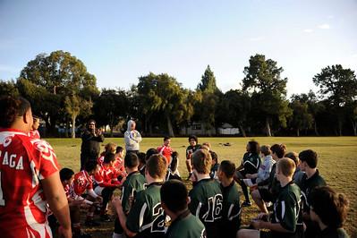 Rugby - Peninsula Green HS Rugby vs Diablo - Jan 21, 2012