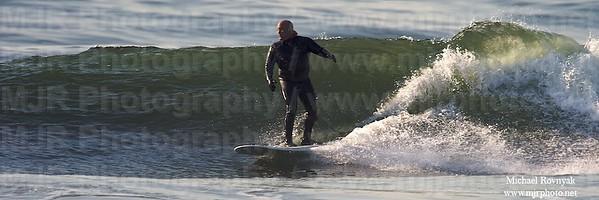 Surfing, Gilgo Beach, NY,  03.07.09